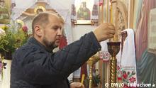 Ukraine - Potschajiw - Kloster der Ukrainischen Orthodoxen Kirche
