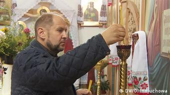 Отець Роман зі Свято-Андріївського храму УПЦ КП