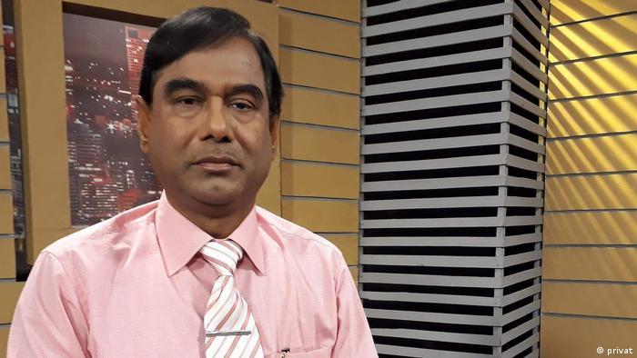 Bangladesch Dr. Kamal Uddin Ahmed Botaniker und Vizekanzler der Sher-E Bangla Universität