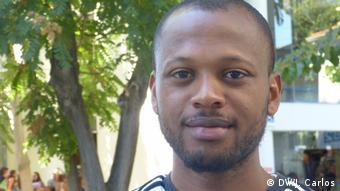 Portugal Lissabon - Migranten aus São Tomé und Principe in Portugal: Nelson Pontes