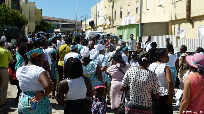 Portugal Lissabon - Migranten aus São Tomé und Principe in Portugal: Santomenses