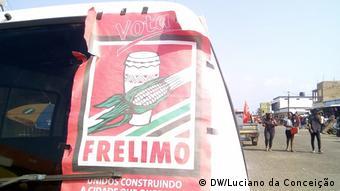 Wahlkampagne in Inhambane, Mosambik
