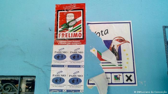 Wahlkampagne in Inhambane, Mosambik (DW/Luciano da Conceição)