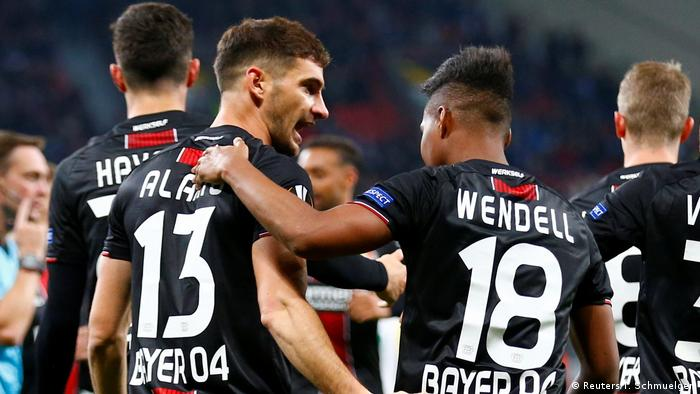 Europa League: Comfortable wins for Leverkusen, RB Leipzig