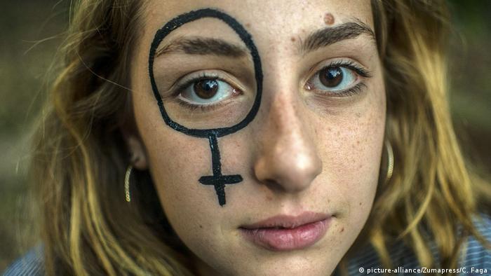 Brasilien Sao Paulo - Proteste zum Thema Abtreibung