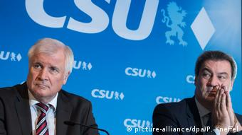 Seehofer and Söder (picture-alliance/dpa/P. Kneffel)