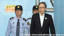 Korruptionsprozess gegen Ex-Präsident von Südkorea