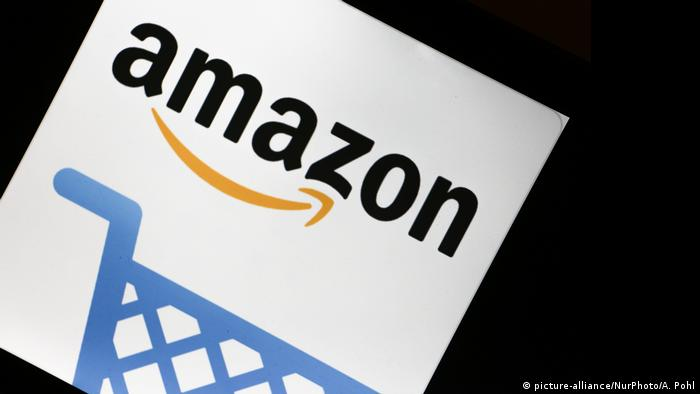 Logo Symbolbild Amazon (picture-alliance/NurPhoto/A. Pohl)