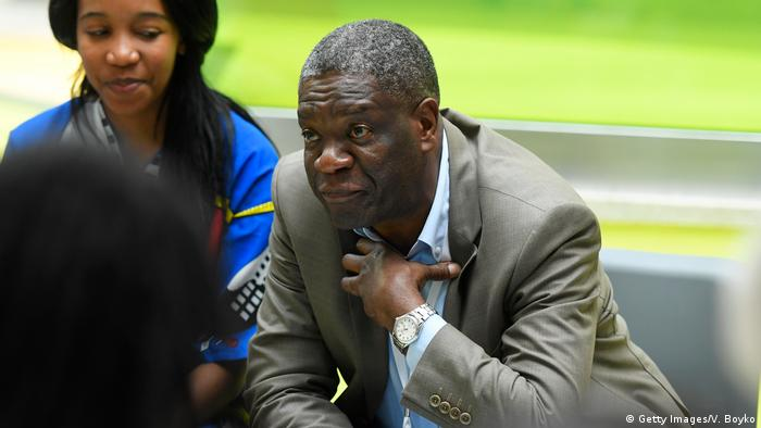 Nobel Peace Prize joint-winner in 2018 Denis Mukwege