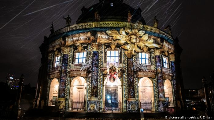 Berlin: Festival of Lights - Probeleuchten (picture-alliance/dpa/P. Zinken)