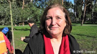 Ельке Браун координує проекти фонду Пам'ять, відповідальність, майбутнє в Україні