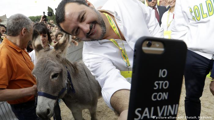 Matteo Salvini enjoys life as EU leaders fume