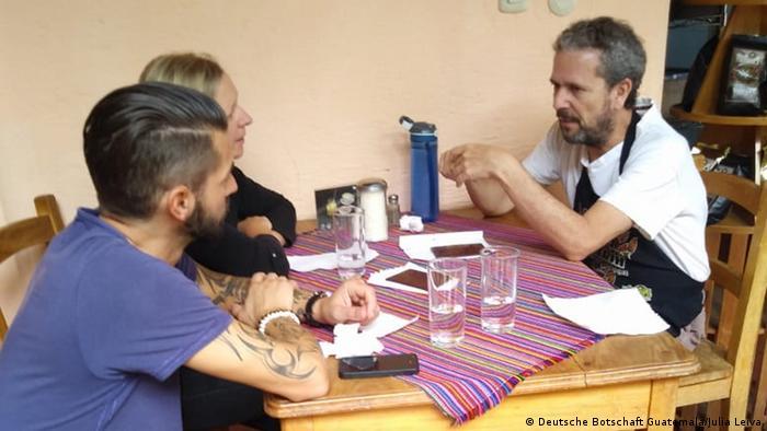 Deutscher Sternekoch Marco Akuzun in Guatemala (Deutsche Botschaft Guatemala/Julia Leiva)