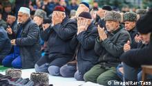 Inguschetien Protest in Magas gegen Grenzänderungen zu Tschetschenien