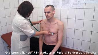 Олег Сенцов у колонії в місті Лабітангі. Фото зроблене наприкінці вересня 2018 року