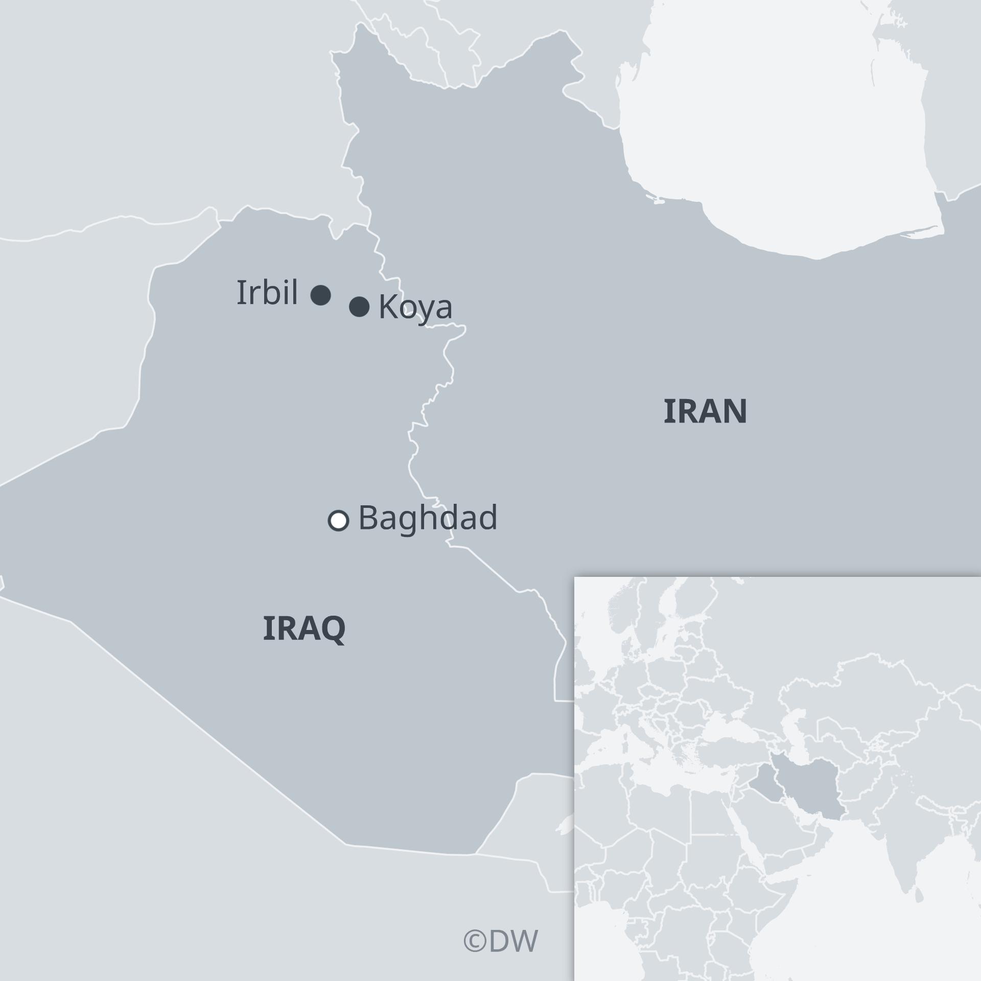 Kurdistan Karte 2019.Kurdish Families Caught Between Iran And The Us Middle