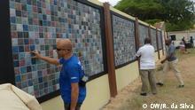 Mosambik Ausstellung Plastikmüll