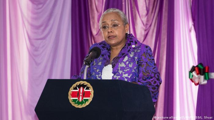 Kenia Firstlady Margaret Kenyatta (picture-alliance/ZUMAPRESS/L. Shuai)
