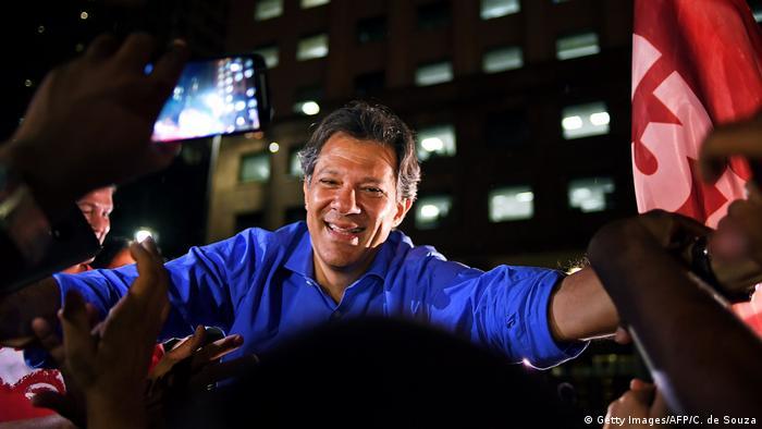 OFICIAL: Habrá segunda vuelta en Brasil entre Bolsonaro (47,01%) y Haddad (27,97%)
