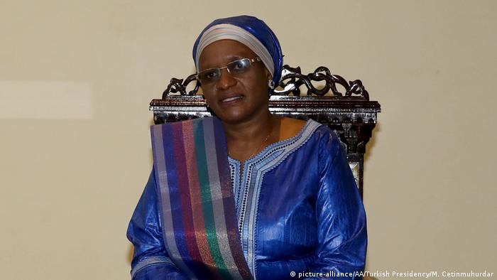 Tansania Firstlady Janeth Magufuli (picture-alliance/AA/Turkish Presidency/M. Cetinmuhurdar)