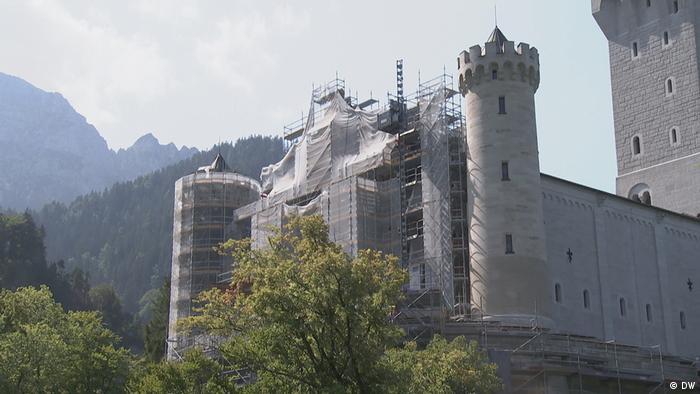 DW Euromaxx - Die Renovierung von Schloss Neuschwanstein (DW)