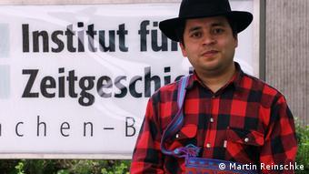 Carlos Haas, historiador de la LMU, de Múnich.