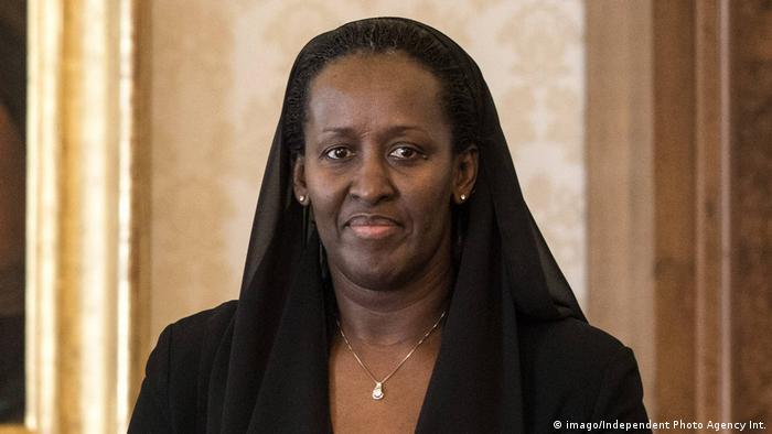 Rwandan First Lady Jeanette Kagame