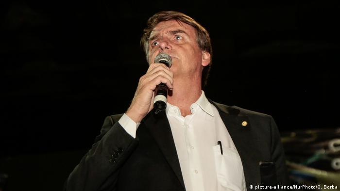 Brasilien Präsidentschaftskandidat Jair Bolsonaro