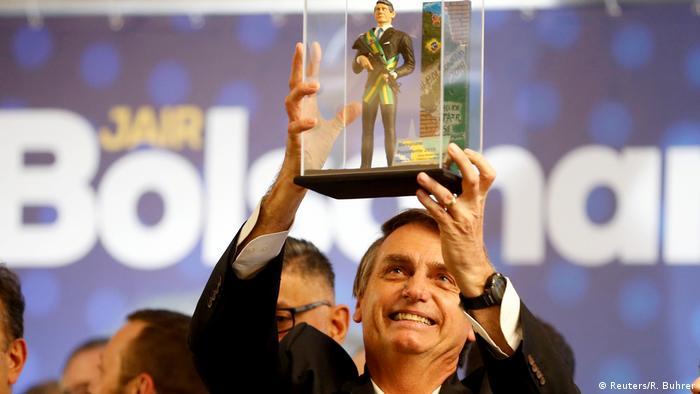 O candidato Jair Bolsonaro: pesquisadora destaca o personalismo como uma de suas principais características