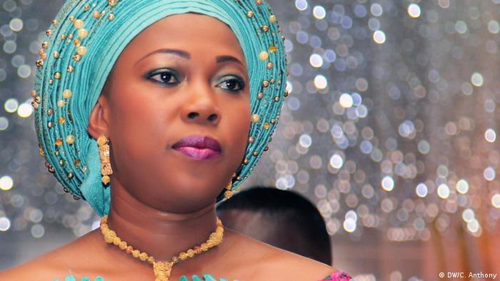 Fatima Maada-Bio, First Lady in Sierra Leone (DW/C. Anthony)