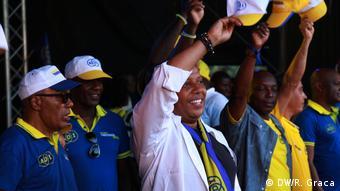 São Tomé und Príncipe Patrice Trovoada, Kandidat von ADI Partei