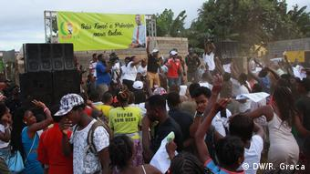 São Tomé und Príncipe Wahlkampf von MLSTP Partei