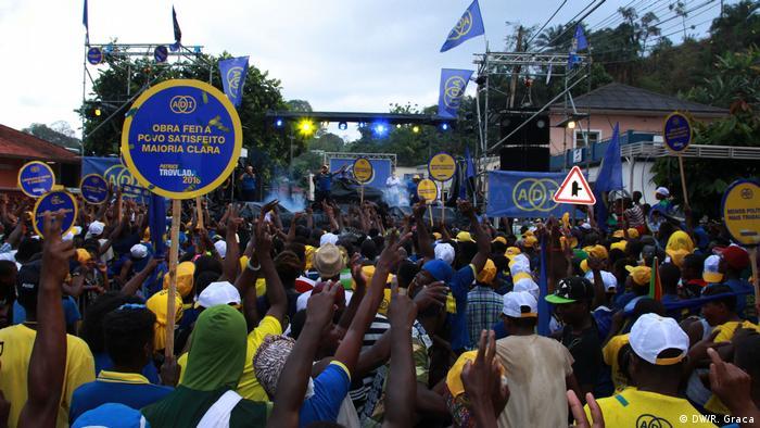 Campanha eleitoral do partido ADI em São Tomé e Príncipe