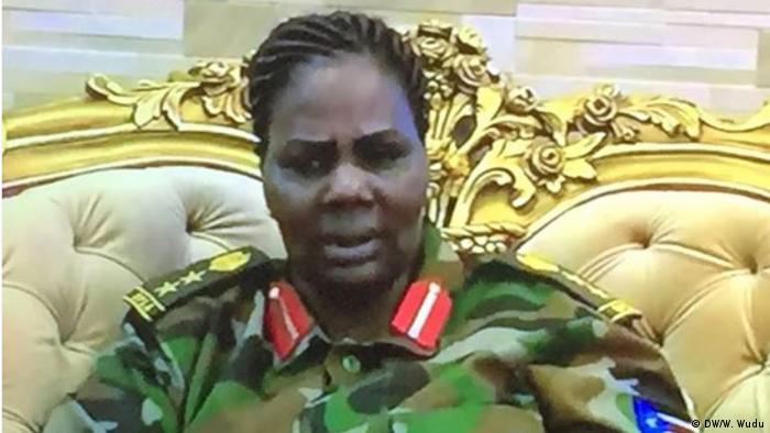 Südsudan: First Lady (DW/W. Wudu)