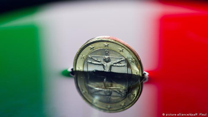 Symbolbild Italien & Euro
