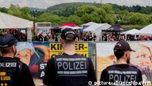 Deutschland Rechtsrock-Konzert in Magdala   Juni 2018