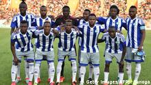 03.09.2016 Sierra Leone's players pose prior to the 2017 African Cup of Nations qualification football match between Ivory Coast and Sierra Leone, at the Stade de la Paix in Bouake on September 3, 2016. / AFP / ISSOUF SANOGO (Photo credit should read ISSOUF SANOGO/AFP/Getty Images)