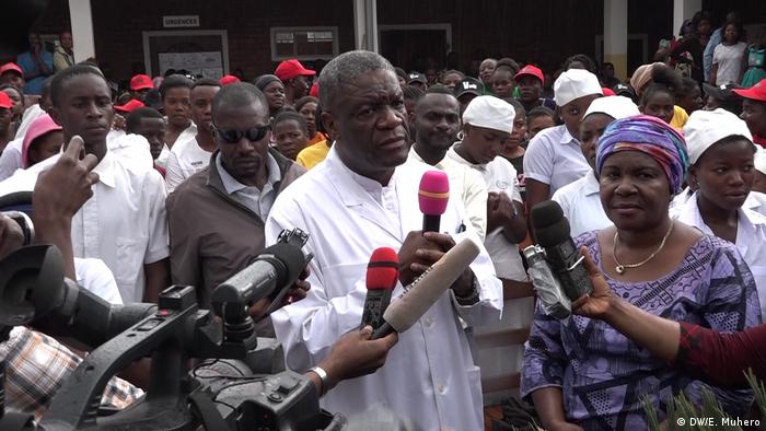 Kongo Friedensnobelpreisträger Denis Mukwege