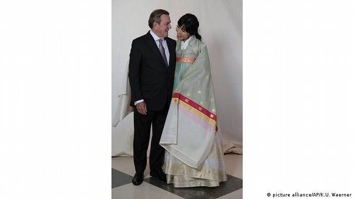 Polit Promis Bei Hochzeitsfeier Von Altkanzler Gerhard Schroder