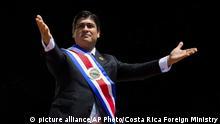 Costa Rica l Präsident Carlos Alvarado l Vereidigungszeremonie