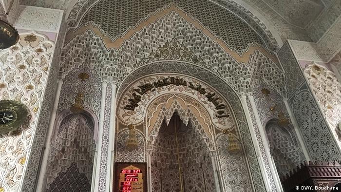 Arbeiter aus Marokko in Algerien Mosaik Moschee