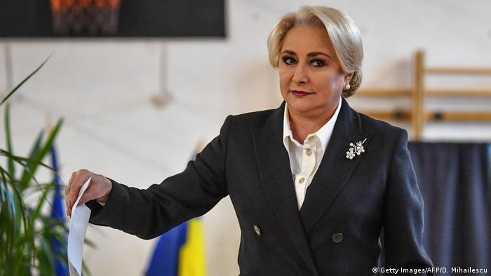 Viorica Vasilica Dăncilă, premierul României