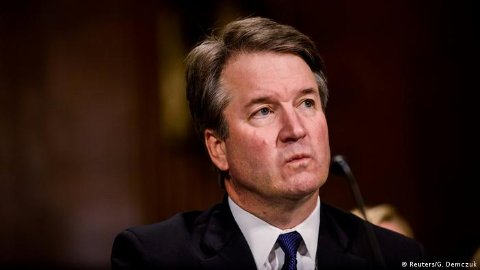 Judge Brett M. Kavanaugh testifies in front of the Senate Judiciary committee regarding sexual assault allegations