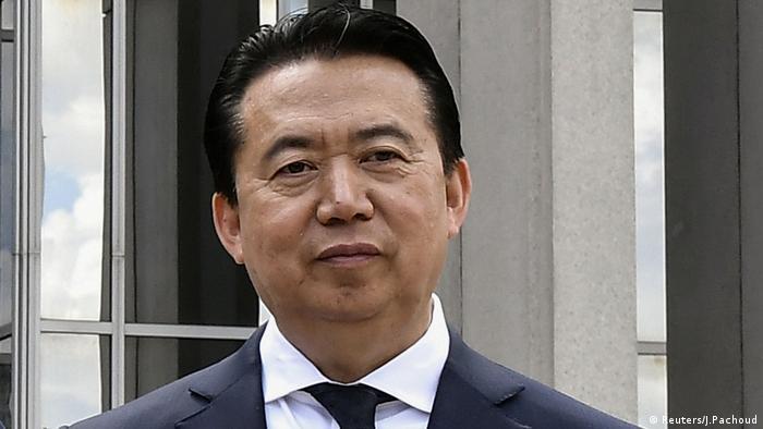 Interpol Präsident, Meng Hongwei (Reuters/J.Pachoud)