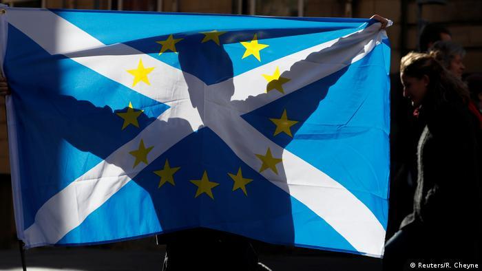Schottland Demonstration für die Unabhängigkeit in Edinburgh (Reuters/R. Cheyne)