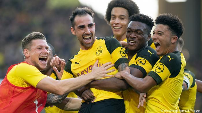 Bundesliga, Borussia Dortmund vs FC Augsburg (picture-alliance/B.Thissen)
