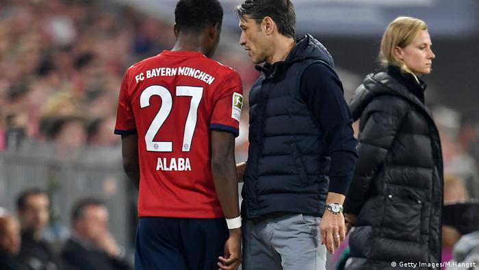 Fußball Bundesliga, FC Bayern München vs Borussia Mönchengladbach