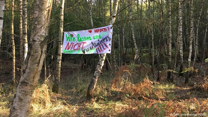 Deutschland Freude im Hambacher Forst