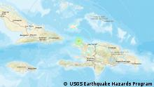 USGS Earthquake Hazards Program - Meldung Erdbeben Haiti