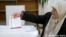 Bosnien-Herzegowina Zenica Wahlen